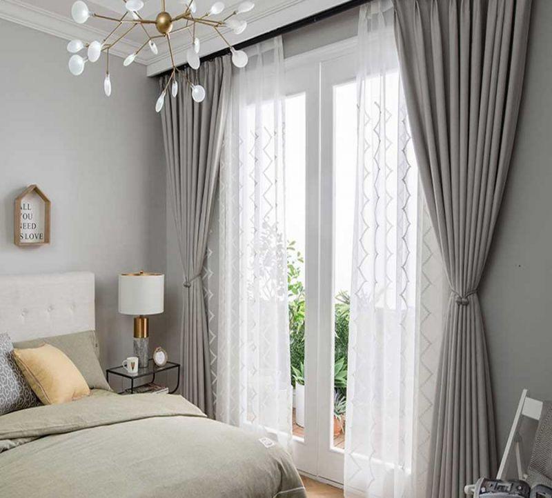 Chất liệu rèm cửa có ảnh hưởng quan trọng tới ấn tượng của khách hàng