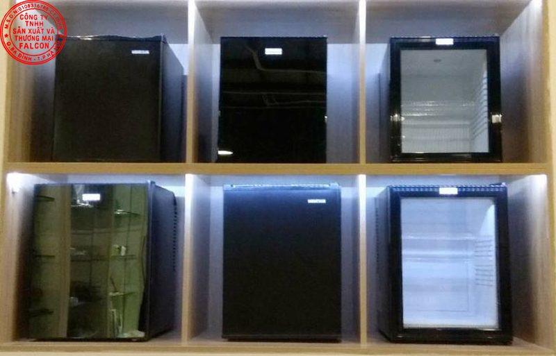 Các mẫu minibar cho khách sạn - resort cao cấp