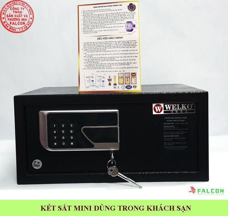 cung cấp két sắt mini dùng trong khách sạn bảo hành trọn đời