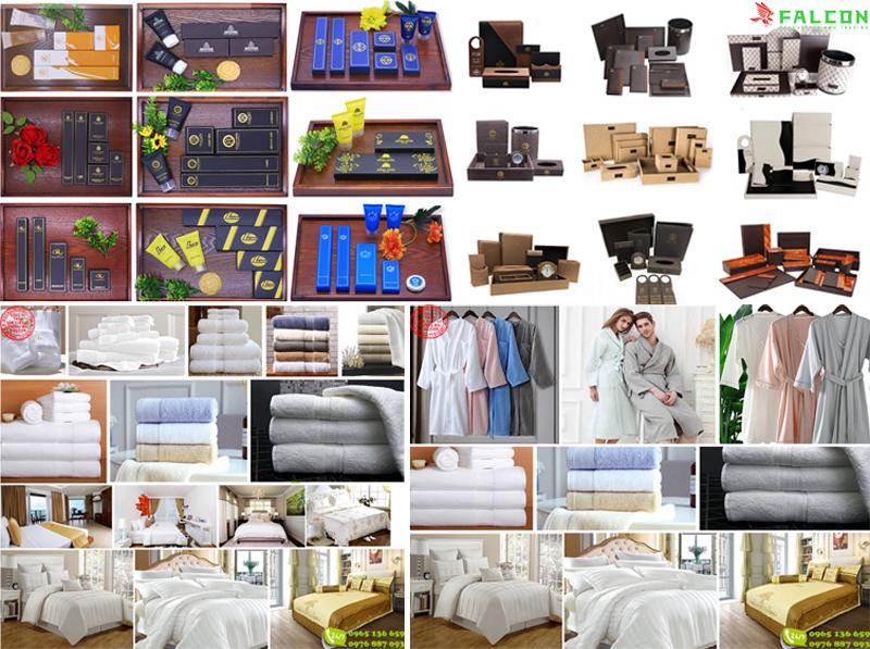 Combo bộ đồ dùng Amenities khách sạn cao cấp