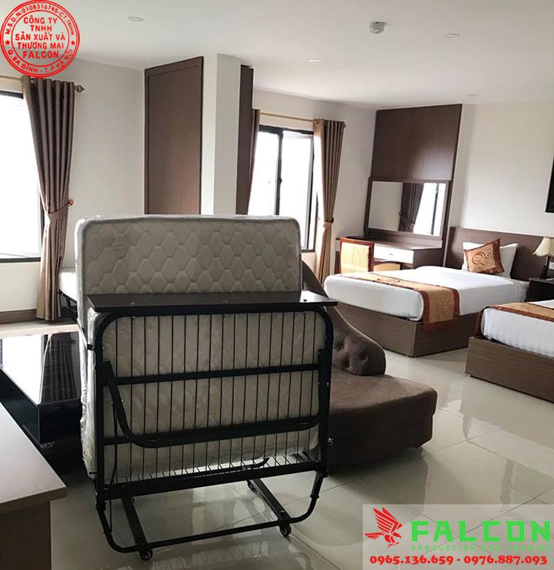Giường phụ sử dụng trong phòng khách sạn