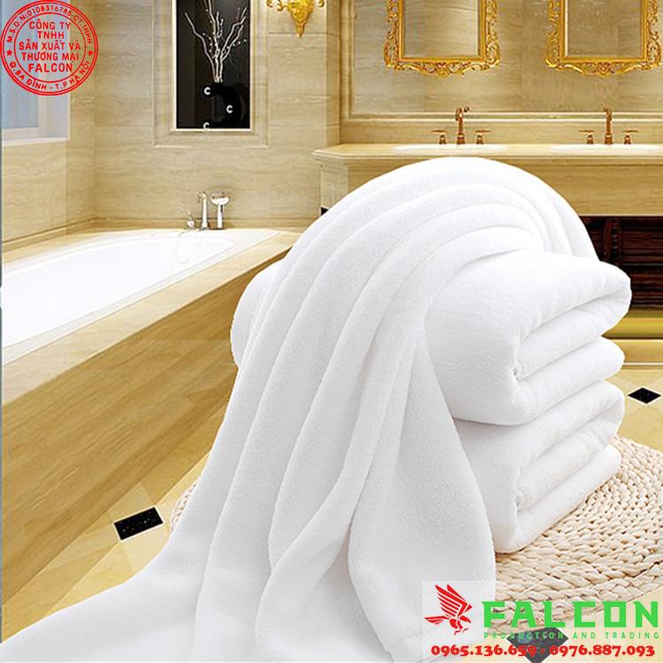 Khăn tắm khách sạn chất lượng cao tiêu chuẩn 3 sao - 5 sao