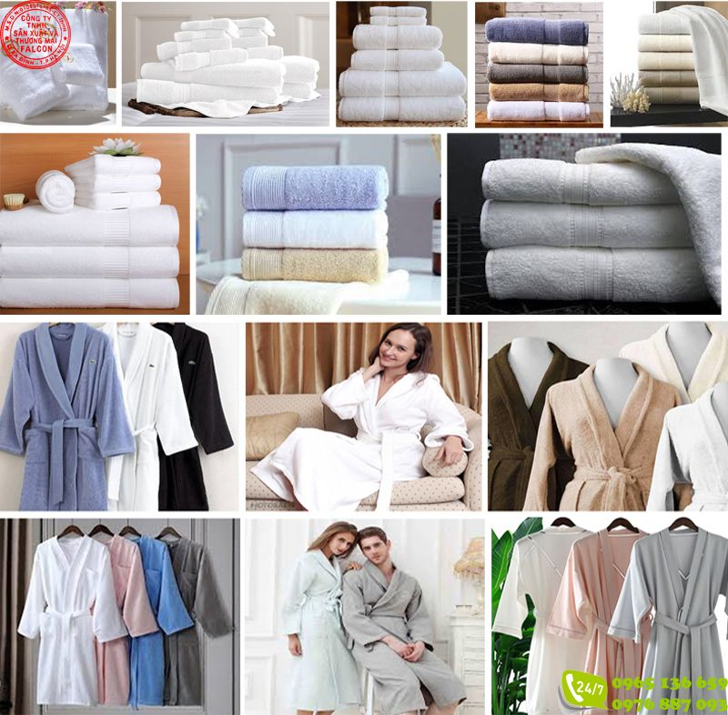 Lựa chọn địa chỉ bán áo choàng khăn tắm khách sạn uy tín