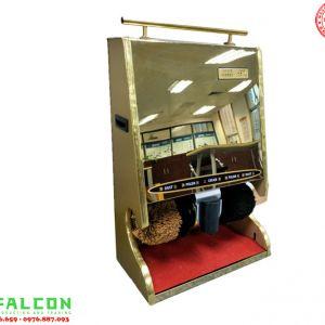 Máy đánh giày inox mạ vàng cao cấp