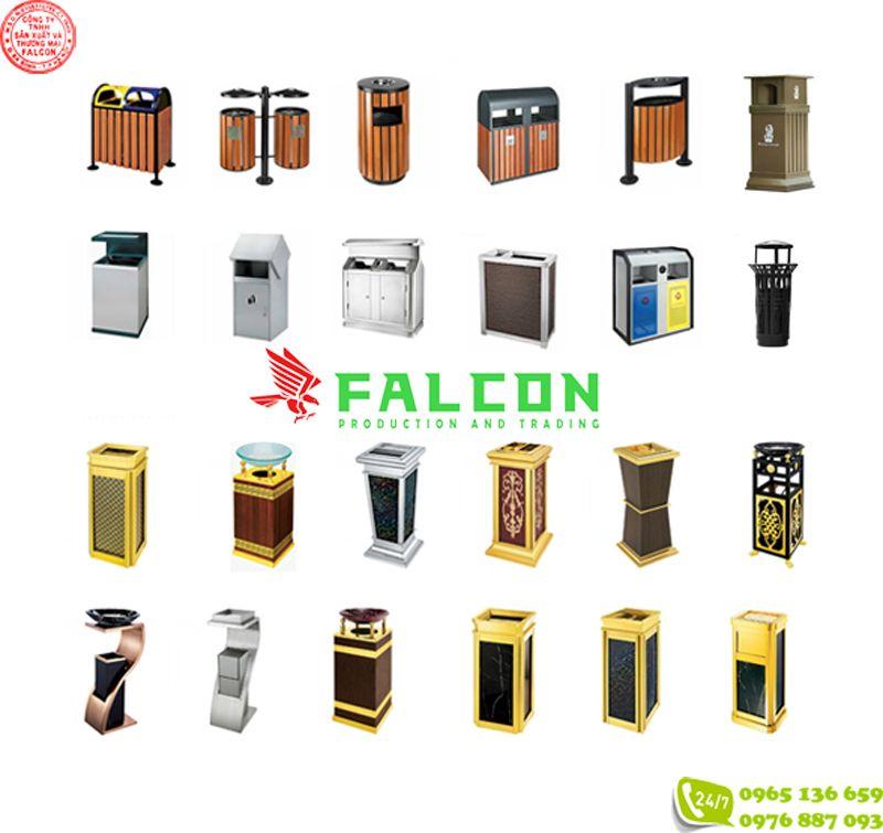 Thùng rác Falcon giá rẻ
